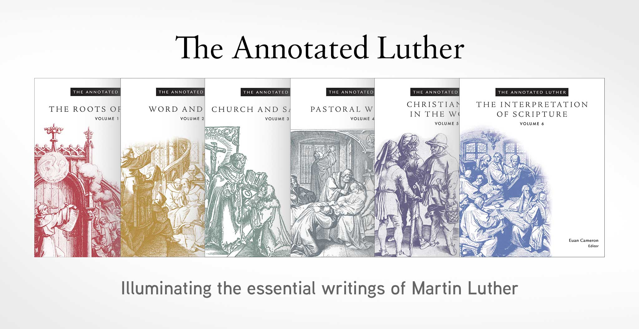 The Annotated Luther series banner image
