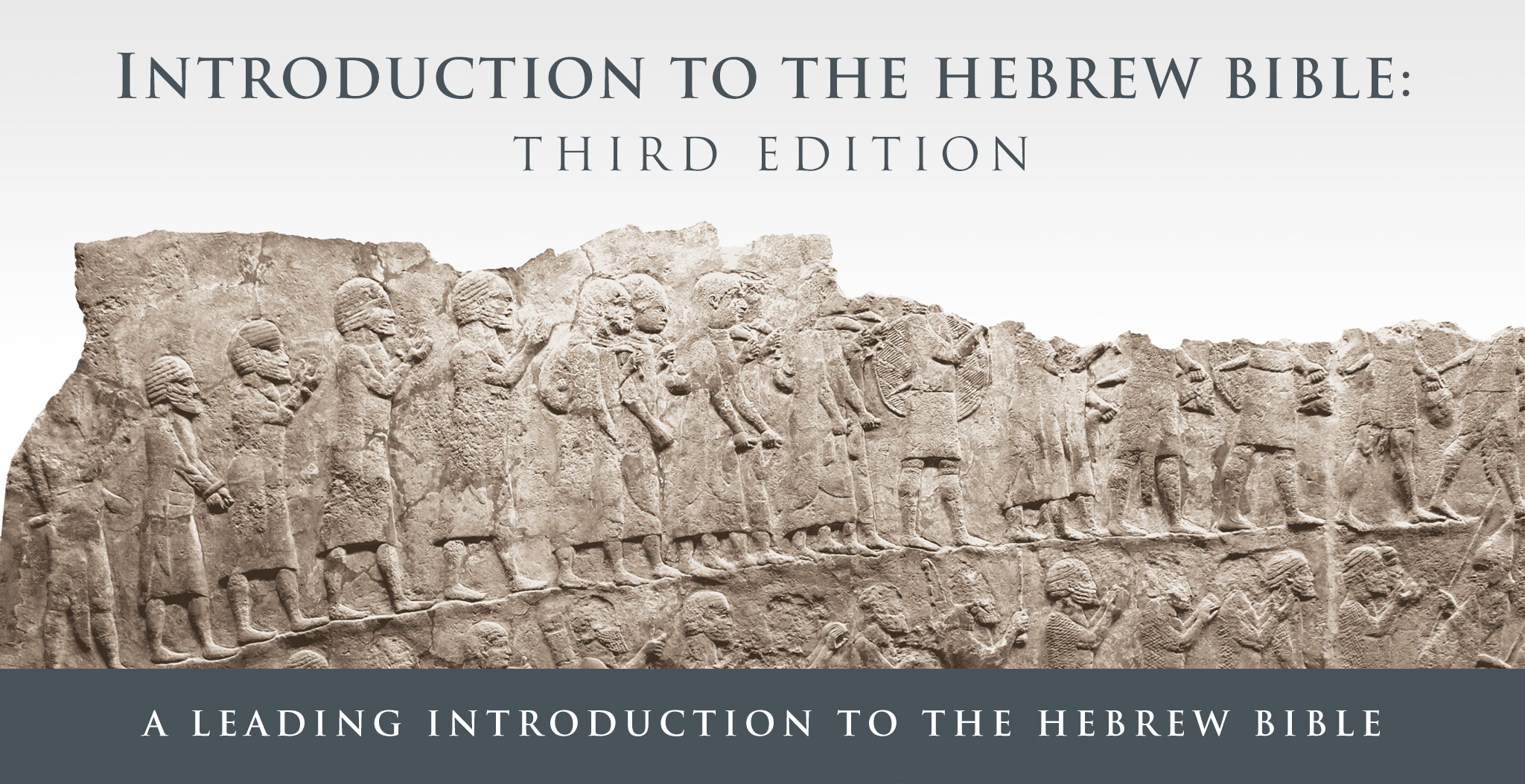Introduction to the Hebrew Bible, Third Edition banner image
