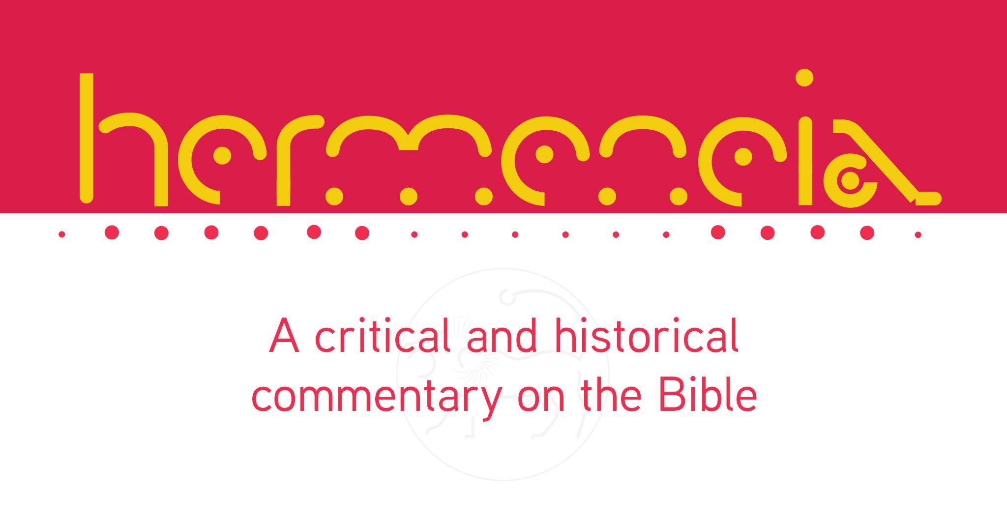 Hermeneia series banner image