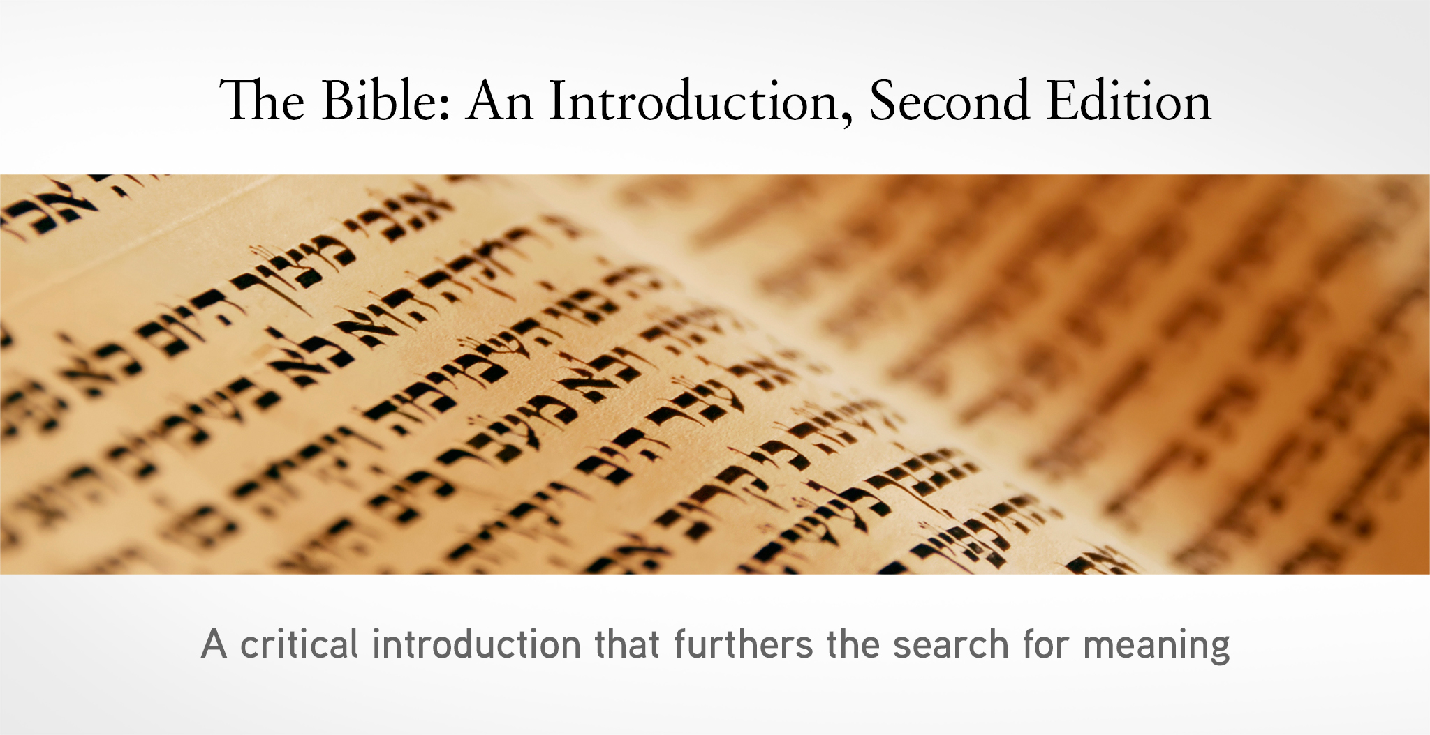 The Bible banner image